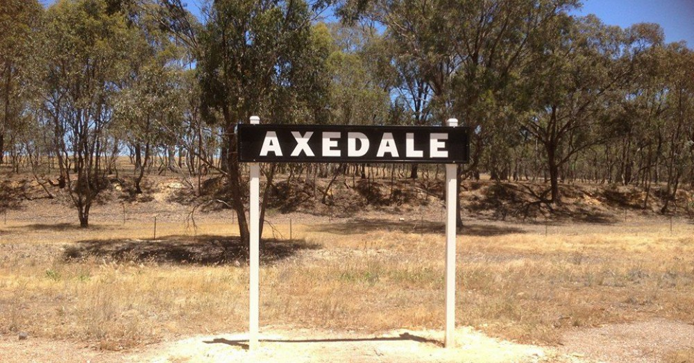 Axedale – Then and Now
