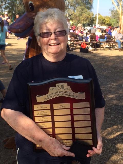 Norah Rigby & Award.JPG