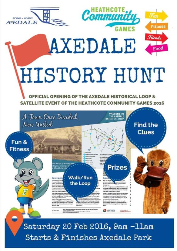 Axedale History Hunt